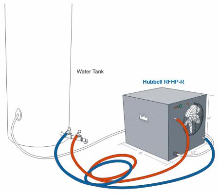 Add On Heat Pump Water Heater Rfhp Buy Tankless Water